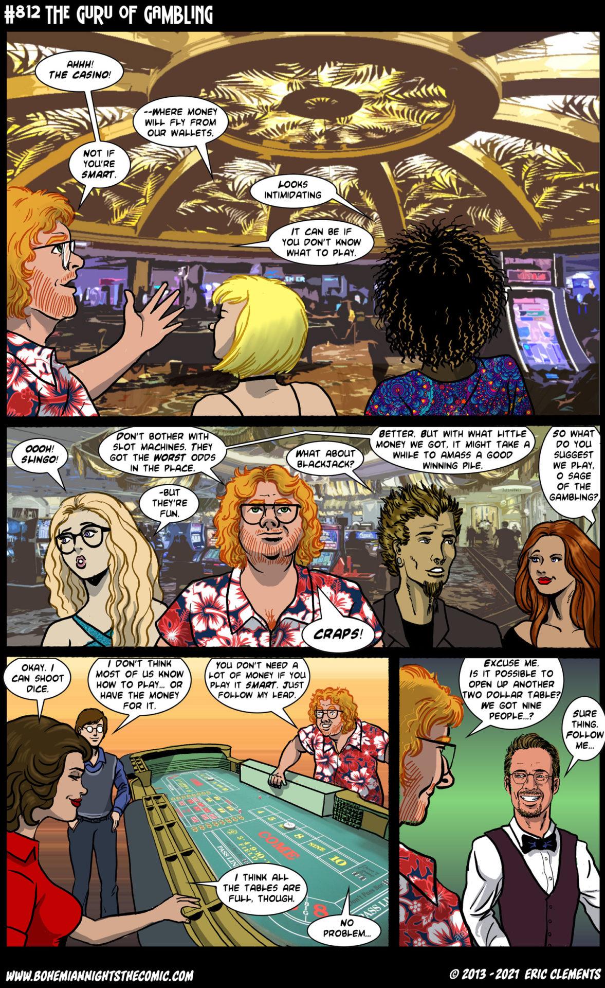 812 The Guru of Gambling