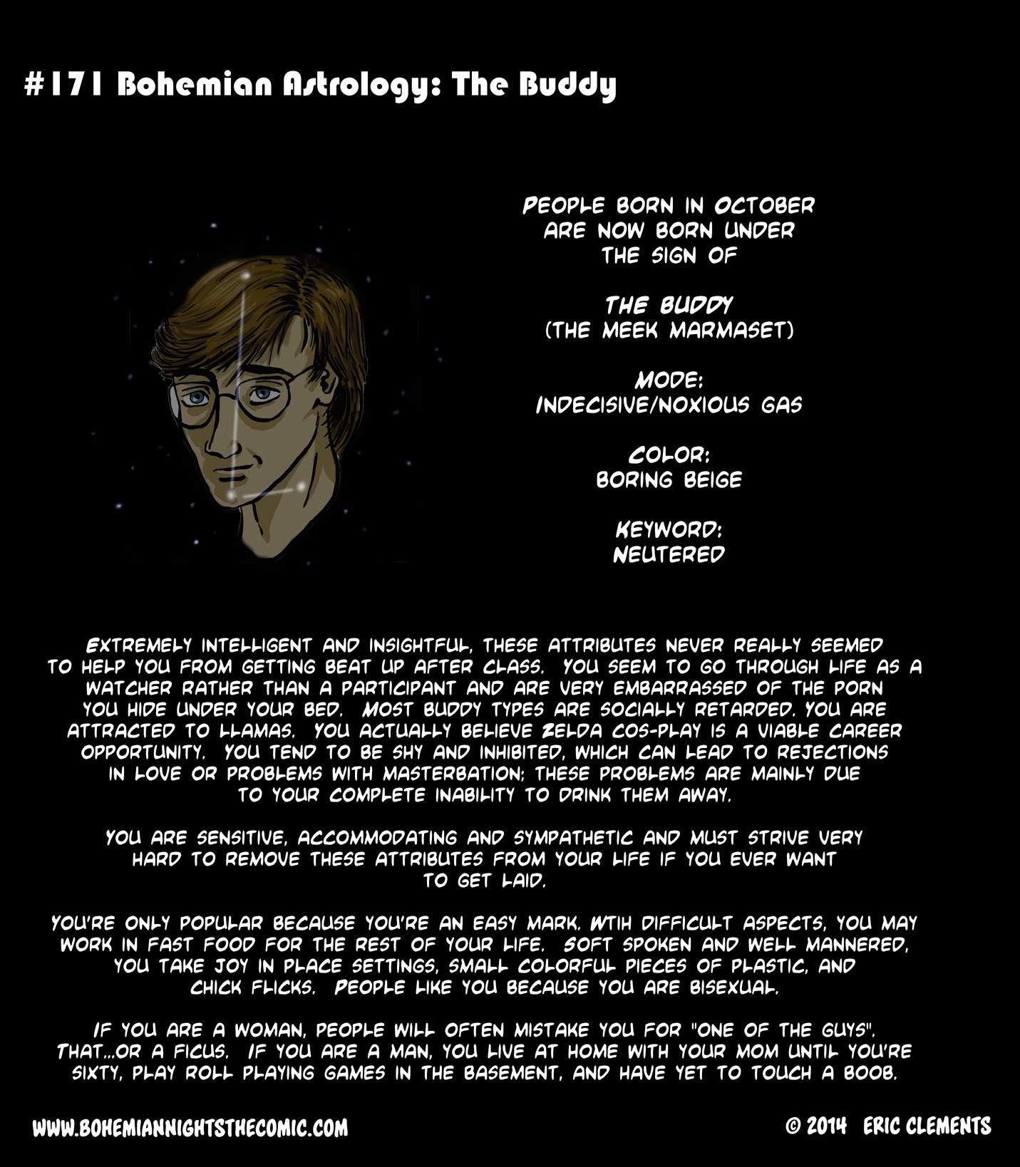 #171 Bohemian Astrology: The Buddy