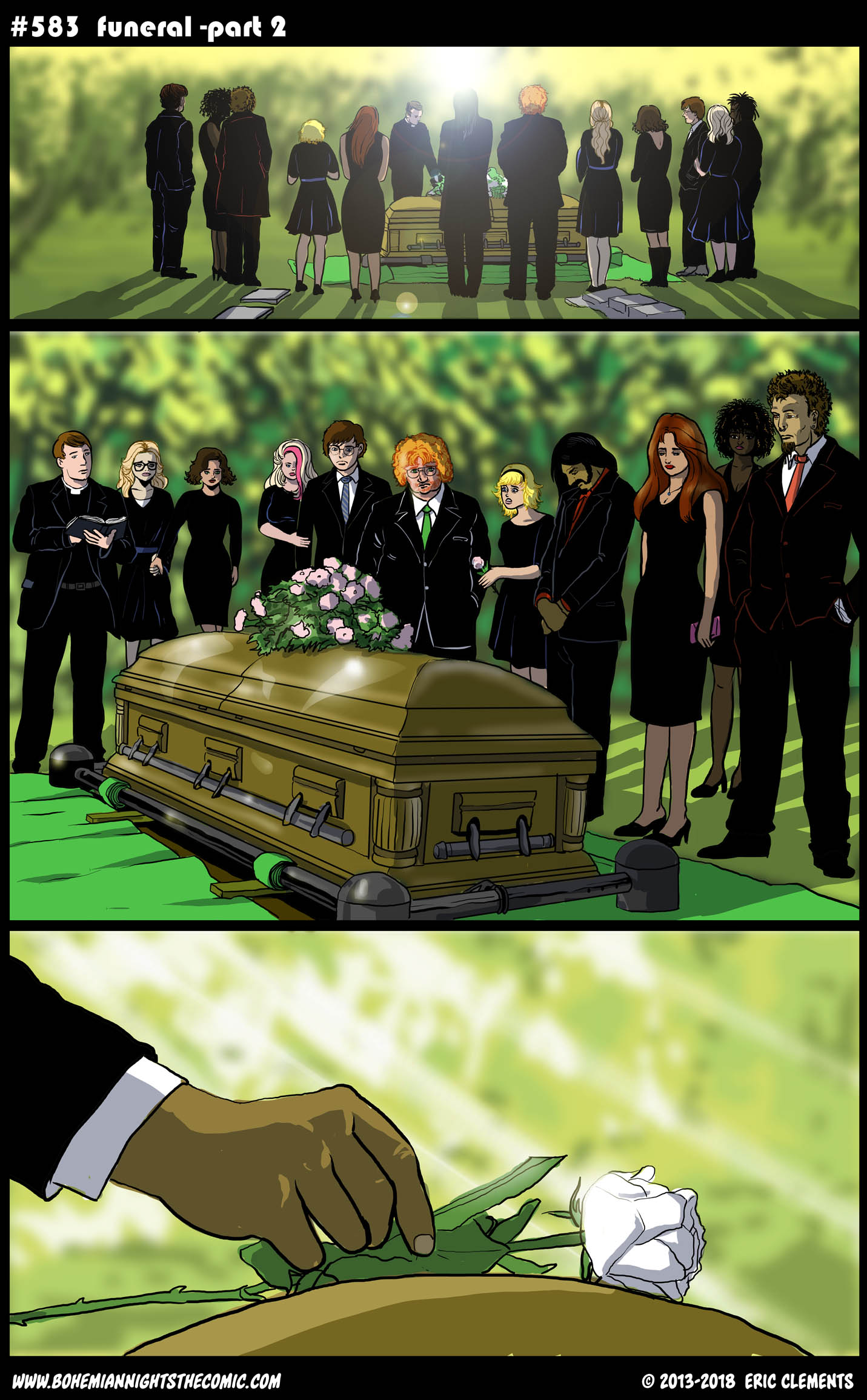 #583 Funeral-part 2